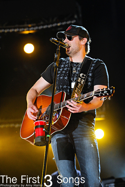 Eric Church performs at LP Field during the 2012 CMA Music Festival on June 09, 2012 in Nashville, Tennessee.