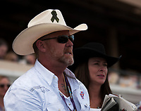 DEL MAR, CA - NOVEMBER 03: Singer Trace Adkins watches action on Day 1 of the 2017 Breeders' Cup World Championships at Del Mar Thoroughbred Club on November 3, 2017 in Del Mar, California. (Photo by Carson Dennis/Eclipse Sportswire/Breeders Cup)