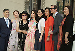Lucy Liu Honored With Star On The Hollywood Walk Of Fame on May 01, 2019 in Hollywood, California.<br /> a_Lucy Liu 015  and family