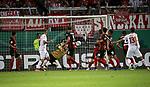 11.08.2019, Brita-Arena, Wiesbaden, GER, DFB-Pokal, 1. Runde SV Wehen-Wiesbaden vs 1.FC Köln<br /> , im Bild<br />Louis Schaub (Köln) erzielt das Tor zum 3:2<br /> <br /> Foto © nordphoto / Bratic