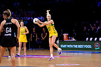 Diamonds&rsquo; Jo Weston in action during the International Netball Constellation Cup - NZ Silver Fans v Australia Diamonds at TSB Bank Arena, Wellington, New Zealand on Thursday 18 October  2018. <br /> Photo by Masanori Udagawa. <br /> www.photowellington.photoshelter.com