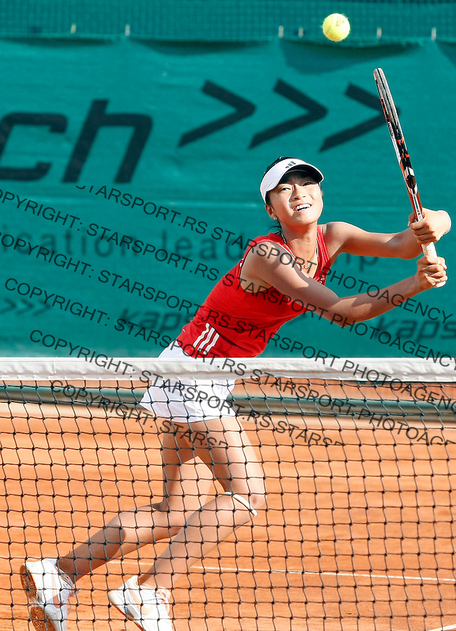 Tenis, World Championship U-14.South Africa Vs. Korea, girls.Ilze Hattingh and Janet Koch Vs. Yeong Won Jeong and Ah Song.Yeong Won Jeong and Ah Song.Prostejov, 02.08.2010..foto: Srdjan Stevanovic/Starsportphoto ©