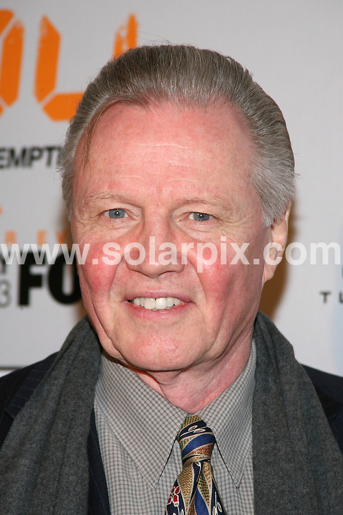 "**ALL ROUND PICTURES FROM SOLARPIX.COM**.**SYNDICATION RIGHTS FOR UK, SPAIN, PORTUGAL, AUSTRALIA, S.AFRICA & DUBAI (U.A.E) ONLY**.arrivals for the ""24: Redemption"" New York Premiere. Held at AMC Theatres Empire 25, New York City, New York, USA. 19th November 2008..This pic: Jon Voigt..JOB REF: 7954 PHZ (Gaboury)    DATE: 19_11_2008.**MUST CREDIT SOLARPIX.COM OR DOUBLE FEE WILL BE CHARGED* *UNDER NO CIRCUMSTANCES IS THIS IMAGE TO BE REPRODUCED FOR ANY ONLINE EDITION WITHOUT PRIOR PERMISSION*"