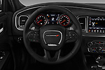 Car pictures of steering wheel view of a 2017 Dodge Charger R/T 4 Door Sedan