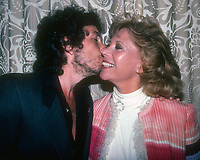 Bob Dylan and Dinah Shore 1982<br /> Photo By Adam Scull/PHOTOlink.net /MediaPunch