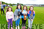 New jockeys trying out for Aintree and enjoying the fun at the Kerins O&rsquo;Rahillys Strand Road community day on Sunday. <br /> L-r, Chelsea Moriarty, Aoibhna Daly, Lily Mae Hussey and Leah Moriarty.