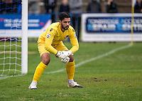 Gibraltarian Goalkeeper Deren Hulusi Ibrahim