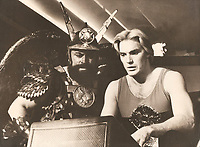 Flash Gordon (1980) <br /> Sam Jones &amp; Brian Blessed<br /> *Filmstill - Editorial Use Only*<br /> CAP/KFS<br /> Image supplied by Capital Pictures