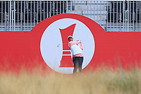 Cheyenne Woods (USA) on the 1st tee during Round 2 of the Ricoh Women's British Open at Royal Lytham &amp; St. Annes on Friday 3rd August 2018.<br /> Picture:  Thos Caffrey / Golffile<br /> <br /> All photo usage must carry mandatory copyright credit (&copy; Golffile | Thos Caffrey)