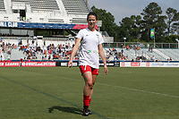 Cary, North Carolina  - Sunday May 21, 2017: Taylor Comeau prior to a regular season National Women's Soccer League (NWSL) match between the North Carolina Courage and the Chicago Red Stars at Sahlen's Stadium at WakeMed Soccer Park. Chicago won the game 3-1.