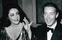 Liz Taylor and Halston 1978<br /> Photo By John Barrett-PHOTOlink.net / MediaPunch