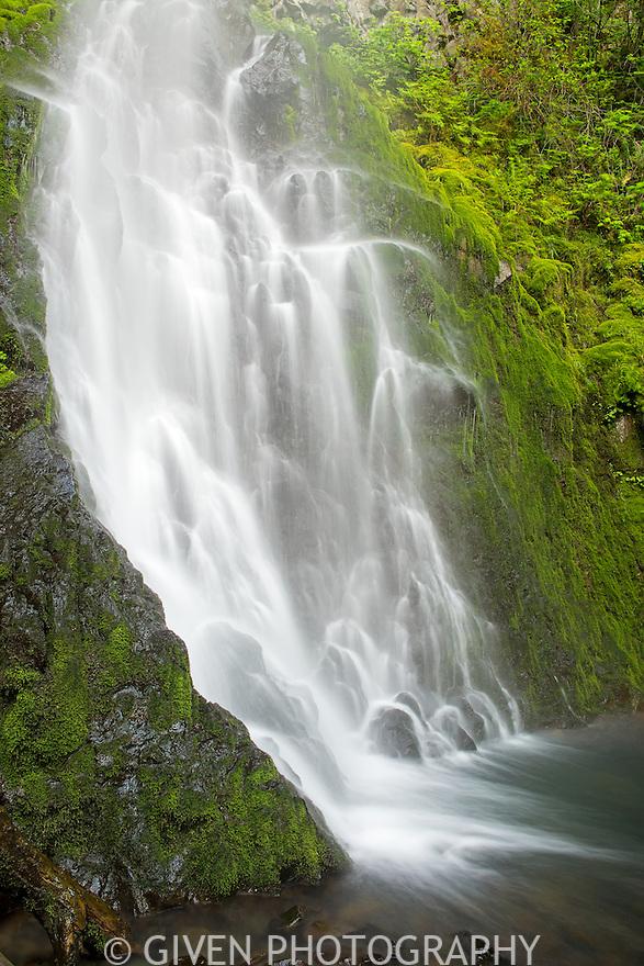 Cabin Creek Falls in the Columbia Gorge, Oregon