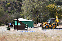 2016 09 26 British police search a field after the disappearance of Ben Needham in Kos, Greece