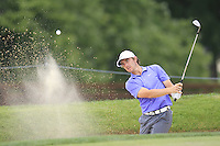 Tommy FLEETWOOD (ENG) in a bunker at the 1st green during Thursday's Round 1 of the 2014 PGA Championship held at the Valhalla Club, Louisville, Kentucky.: Picture Eoin Clarke, www.golffile.ie: 7th August 2014