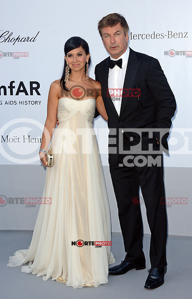 Alec Baldwin and fiancee Magdalena Frackowiak attending the 2012 amfAR Cinema Against AIDS Gala at Hotel du Cap-Eden-Roc in Antibes, France on 24.5.2012. Credit: Timm/face to face / Mediapunchinc / Mediapunchinc
