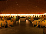CHILE, Santa Cruz,  Wine Cellar at Vineyards of Viu Manent, just outside of Santiago de Chile