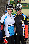 Pauline Dunne and Christina McKenna who took part in the annual SOSAD cycle in Slane. Photo: Colin Bell/pressphotos.ie