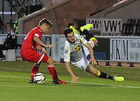 St Mirren v Dunfermline Athletic, League Cup 260814