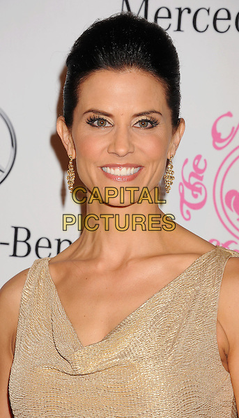 Lu Parker.The 26th Anniversary Carousel Of Hope Ball presented by Mercedes-Benz at The Beverly Hilton Hotel in Beverly Hills, California, USA..October 20th, 2012.portrait headshot gold earrings .CAP/ROT/TM.©Tony Michaels/Roth Stock/Capital Pictures