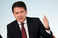 Giuseppe Conte<br /> Roma 20/10/2018. Consiglio dei Ministri sulla Manovra Economica DEF.<br /> Rome October 20th 2018. Minister's Cabinet about the Economic and Financial Document.<br /> Foto Samantha Zucchi Insidefoto