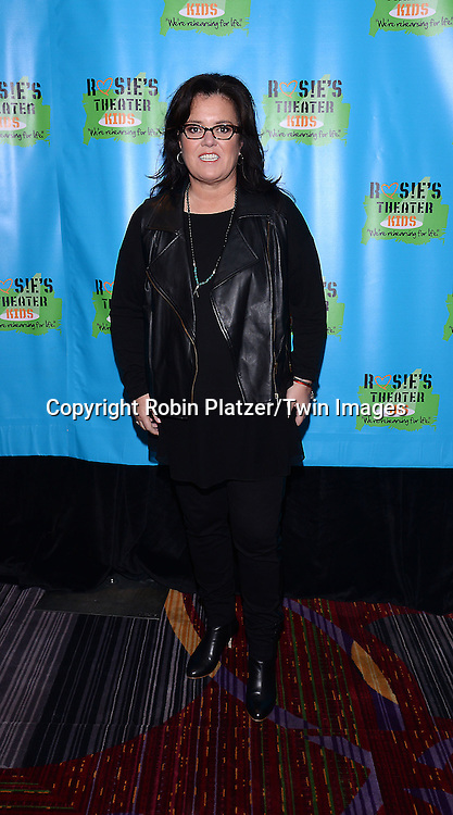 Rosie O'Donnell attends Rosie O'Donnell's 11th Annual Rosie's Theater Kids Gala on September 22, 2014 at The New York Marriott Marquis in New York City. <br /> <br /> photo by Robin Platzer/Twin Images<br />  <br /> phone number 212-935-0770