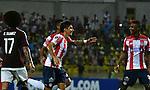 Atlético Junior venció como local 3-0 (4-0 en el global) a Carabobo FC. Partido de vuelta de la segunda fase de la Conmebol Libertadores 2017.