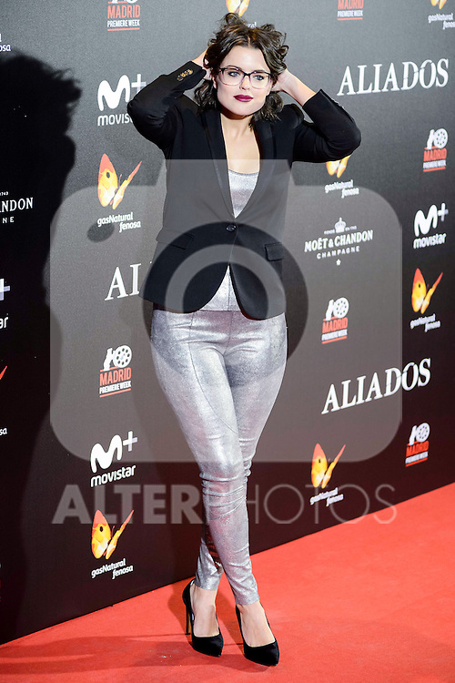 "Adriana Torrebejano attends to the photocall of the premiere of ""Aliados"" in Madrid. November 22, 2016. (ALTERPHOTOS/Borja B.Hojas)"