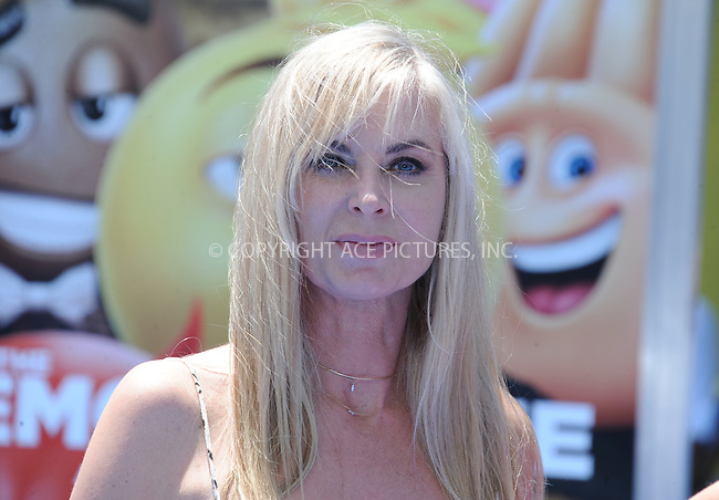 www.acepixs.com<br /> <br /> July 23 2017, LA<br /> <br /> Eileen Davidson arriving at the premiere of 'The Emoji Movie' at the Regency Village Theatre on July 23, 2017 in Westwood, California. <br /> <br /> By Line: Peter West/ACE Pictures<br /> <br /> <br /> ACE Pictures Inc<br /> Tel: 6467670430<br /> Email: info@acepixs.com<br /> www.acepixs.com