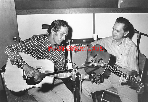 Chet Atkins & Merle Travis RCA Promo..photo from promoarchive.com/ Photofeatures....