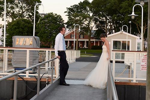 American Yacht Club<br /> Summer Solstice Wedding of<br />  Charlotte Van Wagenen and Scott MacKenzie