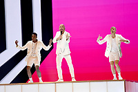 Serhat (San Marino)<br /> Eurovision Song Contest, Rehearsal of the first semi-final, Tel Aviv, Israel - 13 May 2019<br /> **Not for sales in Russia or FSU**<br /> CAP/PER/EN<br /> ©EN/PER/CapitalPictures