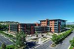 Aerial SLC Utah Buildings