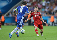 FUSSBALL   SAISON 2011/2012   CHAMPIONS LEAGUE FINALE FC Bayern Muenchen - FC Chelsea  19.05.2012 Frank Lampard (li, FC Chelsea) gegen Bastian Schweinsteiger (re, FC Bayern Muenchen)