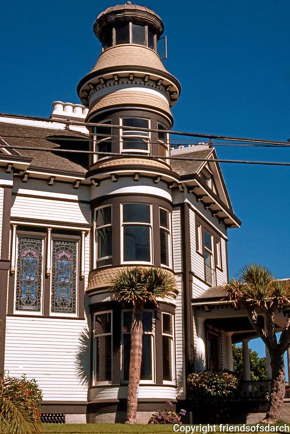 San Diego: Quartermass House, 2404 Broadway, 1896. Photo '78.