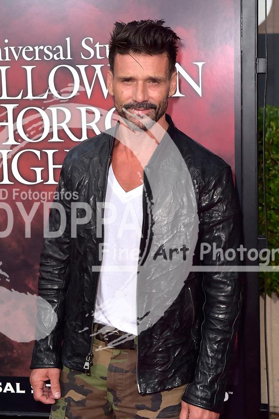 Frank Grillo bei der Eröffnung der 'Halloween Horror Nights' in den Universal Studios. Universal City, 15.09.2017