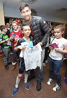 Pictured: Federico Fernandez Tuesday 06 December 2016<br />Re: Swansea City FC Christmas Party at the Liberty Stadium, Wales, UK
