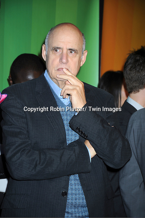 """Jeffrey Tambor of new show  """"Bent"""" attending The NBC Upfront Presentation of the 2011-2012 Primetime Season on May 16, 2011 at The New York Hilton in New York City."""