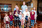 50th Wedding Anniversary: Eamonn & Catherine Deenihan, Ballyduff celebrating 50th wedding anniversary with their grand children and grandson Mullough, centre front celebrating his 4th birthday at the Listowel Arms Hotel on Sunday afternoon last.