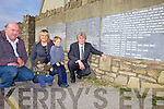 WALL PLAQUES: Ballyheigue GAA Club is hoping to sell off the remain name plaques on its Millenium Wall, l-r: Mike Kenny (Vice-Chairman), Eimear O'Mahony (Secretary), Rian and Darragh Donnelly, Mike Leane (Chairman).