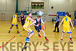 Andrew Fitzgerald  Scotts Lakers drives at UL EAgles defence during their NL Div 1 game in Killarney on Sunday
