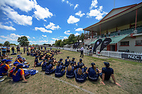 The 2017 New Zealand Secondary Schools 1st XI NZCT girls' cricket national finals at Fitzherbert Park in Palmerston North, New Zealand on Sunday, 3 December 2017. Photo: Dave Lintott / lintottphoto.co.nz