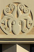 France, Aquitaine, Pyrénées-Atlantiques, Pays Basque, Biarritz: Le Musée de la Mer, style Art Déco , Poulpe  //  France, Pyrenees Atlantiques, Basque Country, Biarritz: The  Sea Museum, Octopus