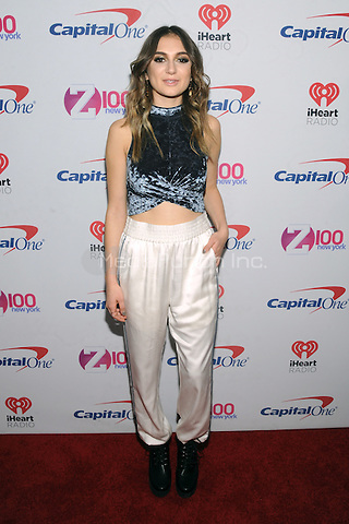 NEW YORK, NY - DECEMBER 9 : Daya at the Z100 Jingle Ball 2016 at Madison Square Garden in New York City on December 9, 2016. Credit: John Palmer/MediaPunch