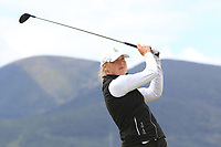 Anna Nordfors (SWE) on the 2nd tee during Round 1 of the Women's Amateur Championship at Royal County Down Golf Club in Newcastle Co. Down on Tuesday 11th June 2019.<br /> Picture:  Thos Caffrey / www.golffile.ie<br /> <br /> All photos usage must carry mandatory copyright credit (© Golffile | Thos Caffrey)
