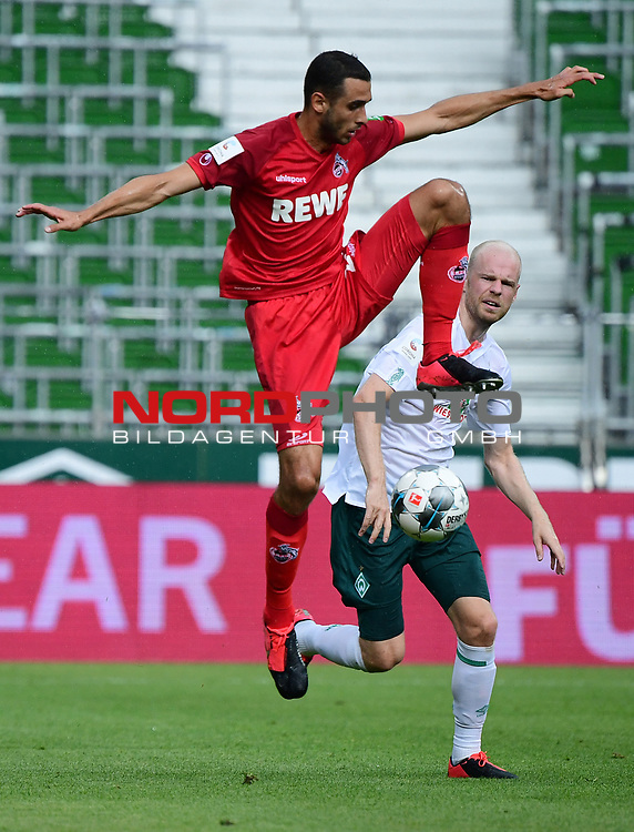 v.l. Ellyes Skhiri (Koeln), Davy Klaassen<br />