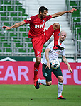 v.l. Ellyes Skhiri (Koeln), Davy Klaassen<br />Bremen, 27.06.2020, Fussball Bundesliga, SV Werder Bremen - 1. FC Koeln<br />Foto: VWitters/Witters/Pool//via gumzmedia/nordphoto<br /> DFL REGULATIONS PROHIBIT ANY USE OF PHOTOGRAPHS AS IMAGE SEQUENCES AND OR QUASI VIDEO<br />EDITORIAL USE ONLY<br />NATIONAL AND INTERNATIONAL NEWS AGENCIES OUT