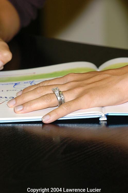 Mia Hamm's wedding ring