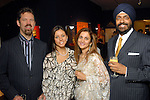 Conrad and Josiane Goerl with Pinder and Jag Gill at the Arts of India Gallery launch party at the Museum of Fine Arts Houston Thursday May 14,2009.(Dave Rossman/For the Chronicle)