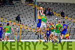 Stephen O'Brien South Kerry in Action against Flor O'Sullivan Kenmare in the County Senior Football Semi Final at Fitzgerald Stadium Killarney on Sunday.