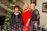 Staff of Rora Motion's, Monavalley, Tralee enjoying their Christmas party on friday night at Ballyroe Height's Hotel on Friday night, l-r Christina McNabb, Ann O'Connor and  Margo Rogers